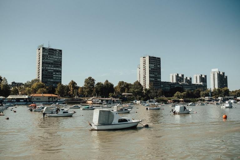 Belgrad from Donava