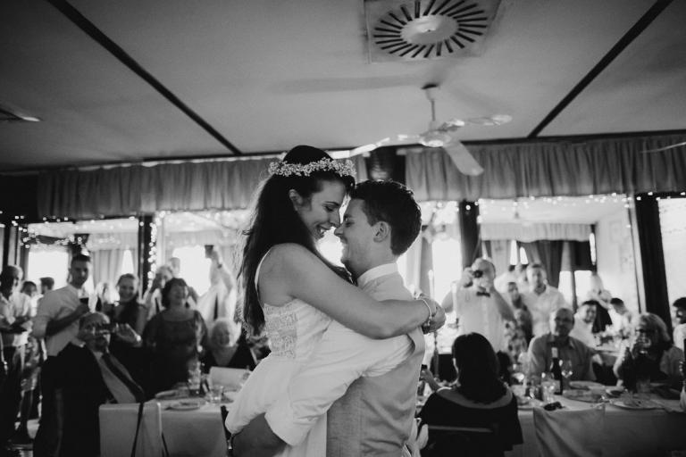 Restaurant Reka wedding
